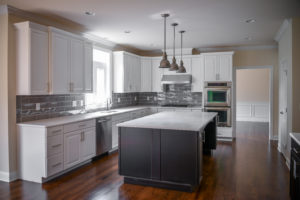 Photo of a modern kitchen for an article discussing 15 minute home makeovers.