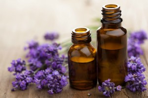 Photo of lavender essential oil to illustrate recipes for essential oil diffusers.