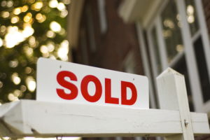 Photo of a sold sign for an article about Real Estate terms.