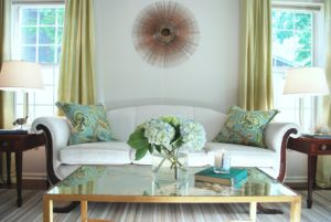 Photo of a beautiful living room to illustrate points about staging your home.