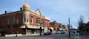 photo of downtown Plainfield, Illinois for an article about local events.