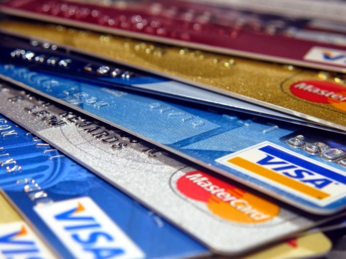 Pile of credit cards not to use once preapproved