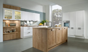 Photo of a beautiful and modern kitchen to illustrate points about kitchen design mistakes and how to avoid them.