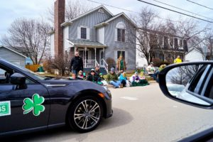 Shot of the Plainfield Hometown Irish Parade.