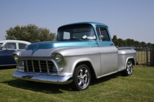 Classic truck for an article listing fun Shorewood events.