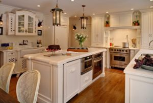 Photo of a kitchen for an article about five things to do when moving into a new home.