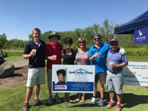 Photo of Dawn Dause and others at the Whitney Miller Golf Classic.