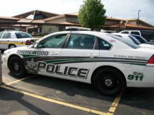 Photo of a Shorewood police car for an article about upcoming Shorewood events.